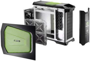 Gabinete ATX/BTX Cooler Master Stacker 830 NV-830 nVidia