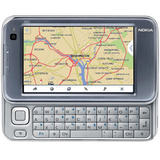 Tablet Nokia N810 Internet Wi-Fi Wide Touchscreen GPS Teclado QWERTY