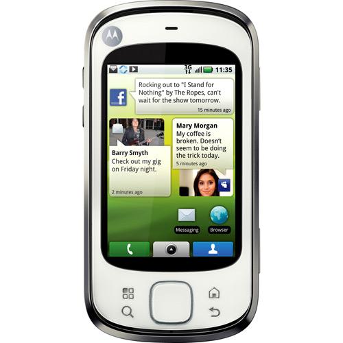 Motorola Quench Android 1.5 3G Wi-fi Câm 5MP GPS MP3 Cartão 2G