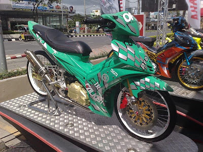 Modification Yamaha LC 135