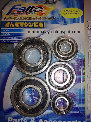 faito engine bearing set for yamaha lc135