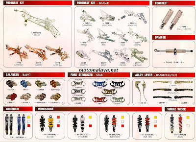 Auto Racing Part on Motomalaya  Racing Boy Parts   Accessories Catalogue 2008