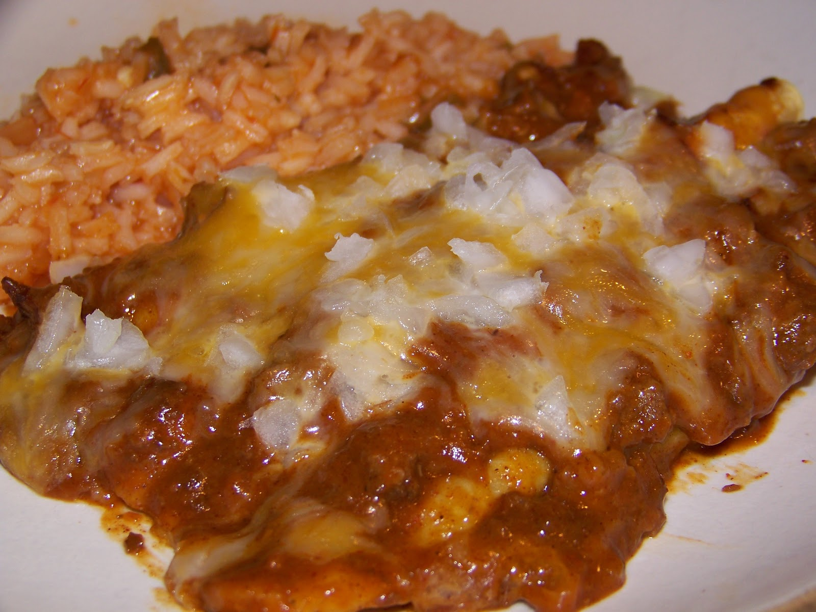 Stefanies Cooking Spot: Chili Cheese Enchiladas