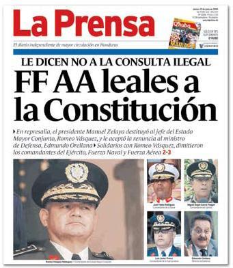 Titular de La Prensa