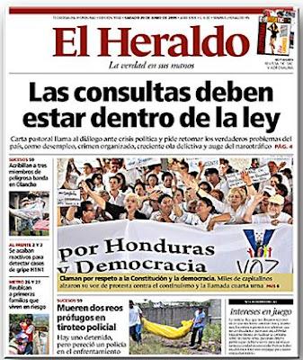 Titular de El Heraldo