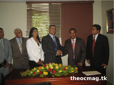 Theoc mag juramentan nuevo gobernador for Nombre del ministro de interior y policia