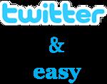 twitter&easy
