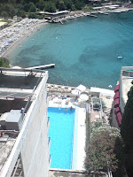 Utsikt fra Kompas Hotel