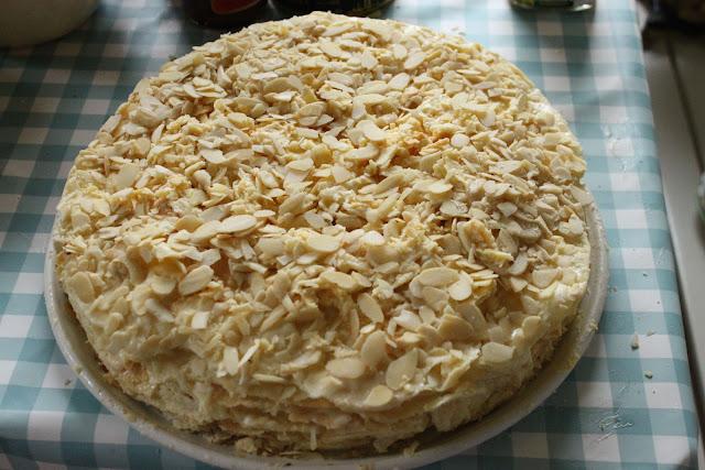 Napoleon cake,