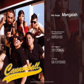 Lirik Lagu Cannonball - Bukan Cinderella