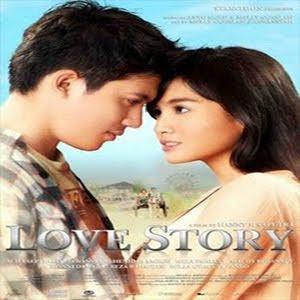 Lirik Lagu Melly Goeslaw feat. Irwansyah - Love Story