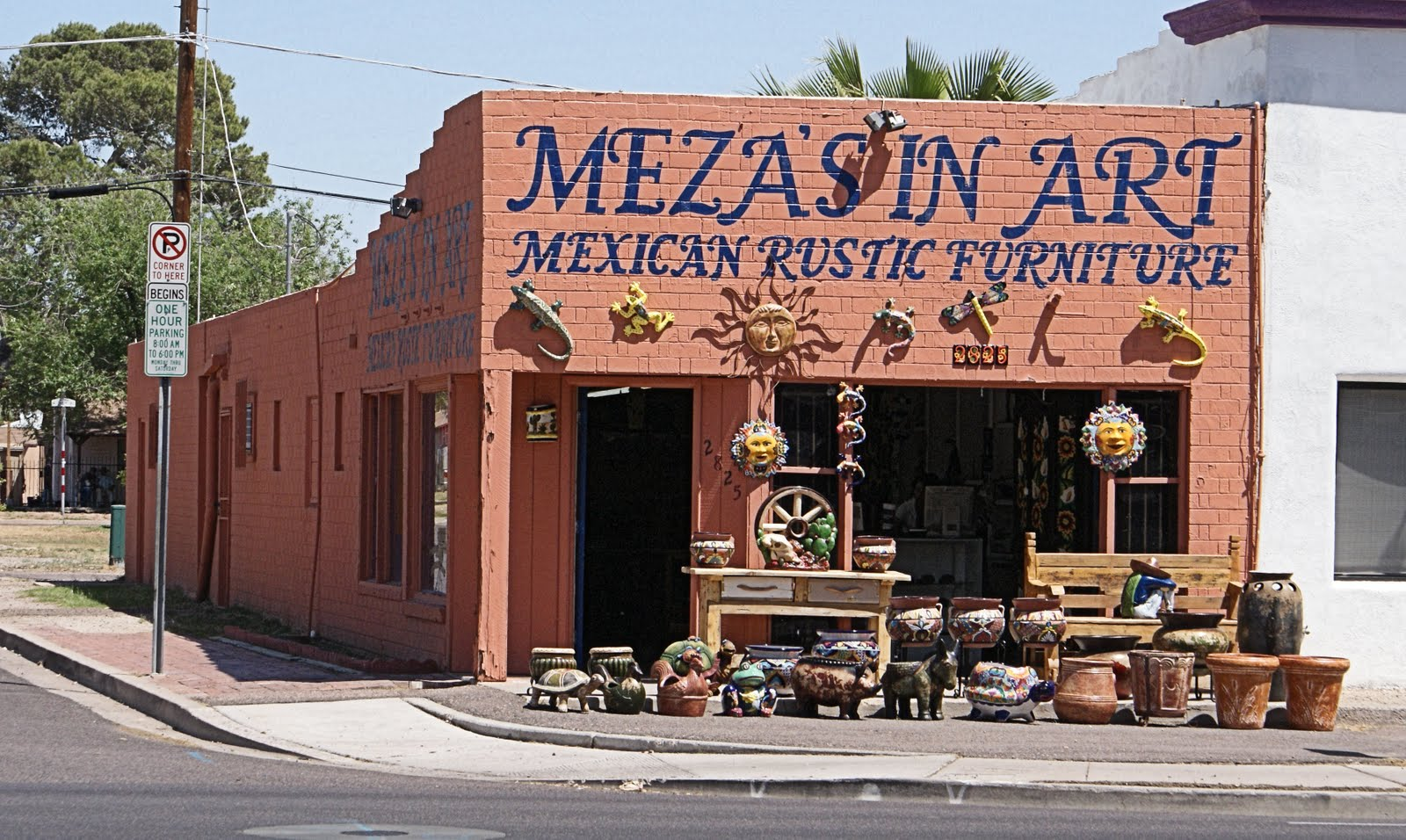 in the market for some rustic furniture or mexican pottery this place might save you trip to mexico image