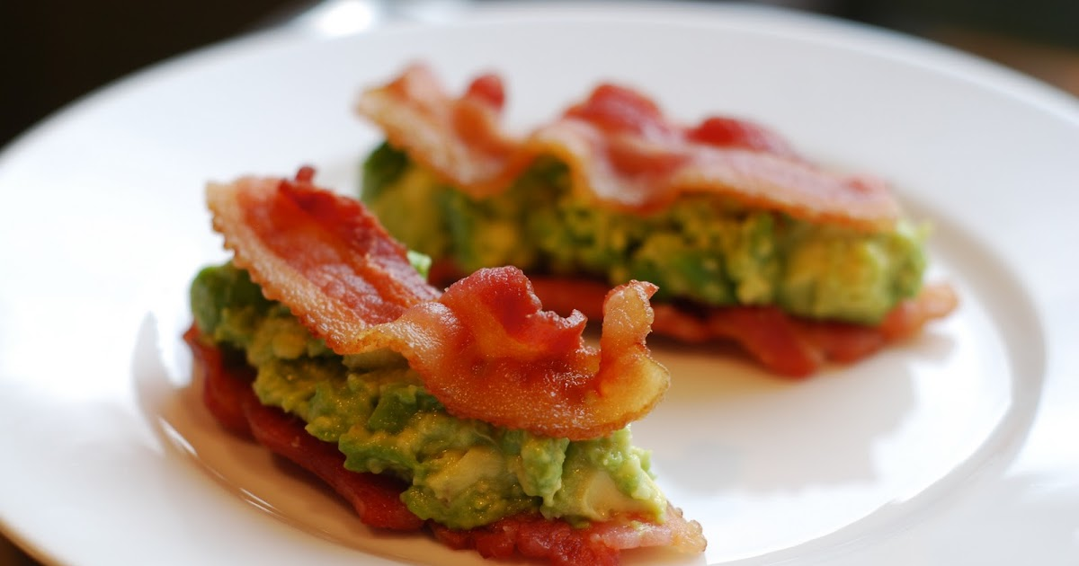 "Bacon & Avocado ""Sandwiches"""