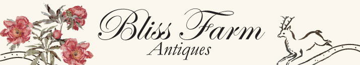 BLISS FARM ANTIQUES 417 TREMONT ST., REHOBOTH, MA 508-222-4108
