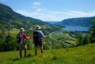 Utsikt sørover fra Ringebufjellene. Foto fra bloggen