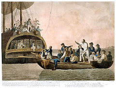 Captain Bligh Exits the Bounty