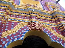 Arch, Tonantzintla church