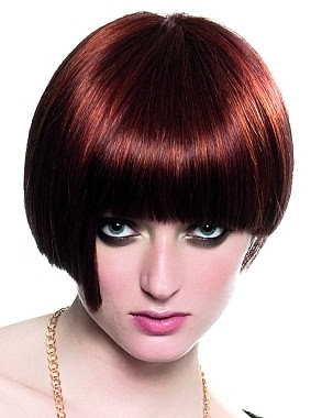 Dark Red Hair - Hair Highlighting