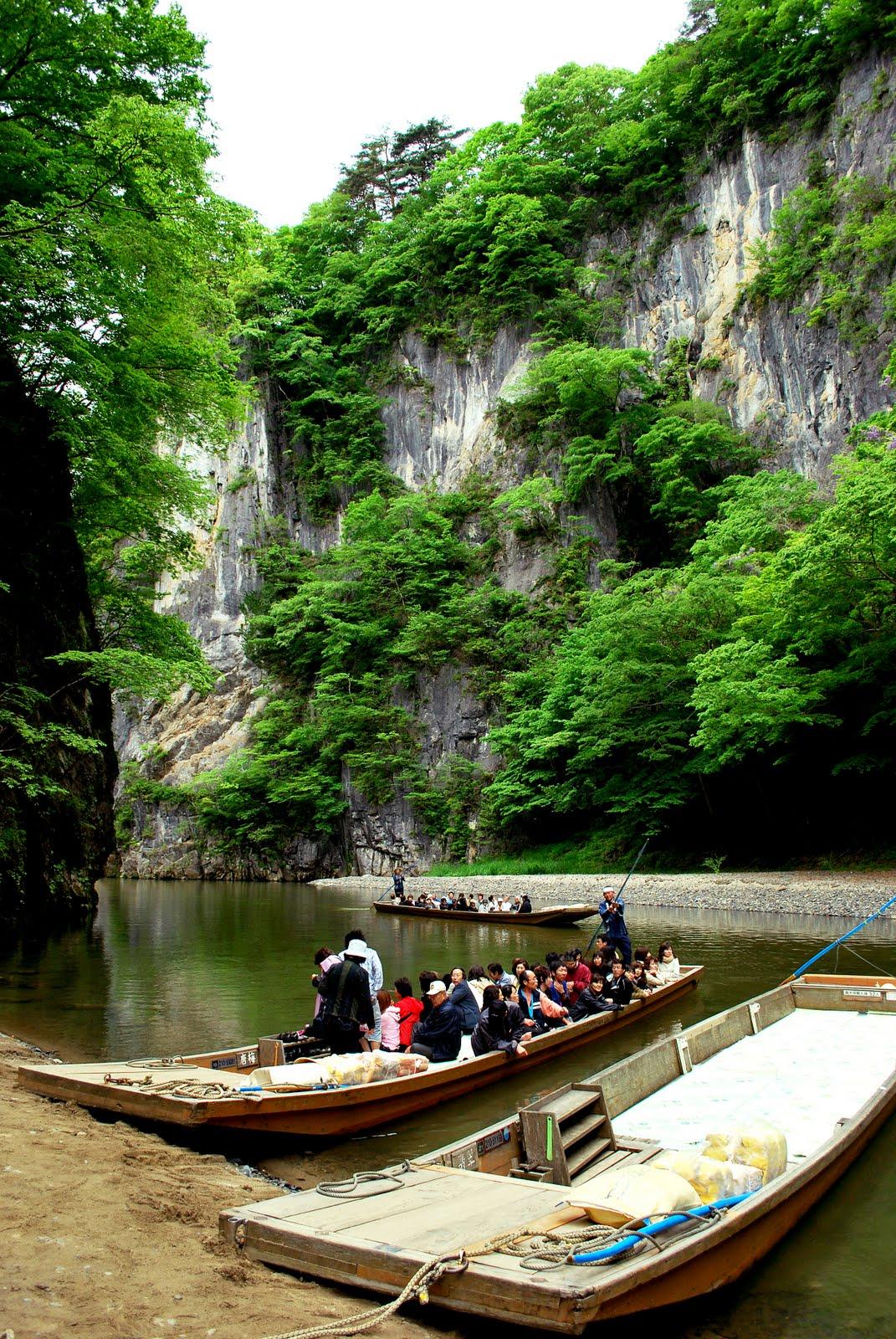 Geibikei, Travel to Ichinoseki