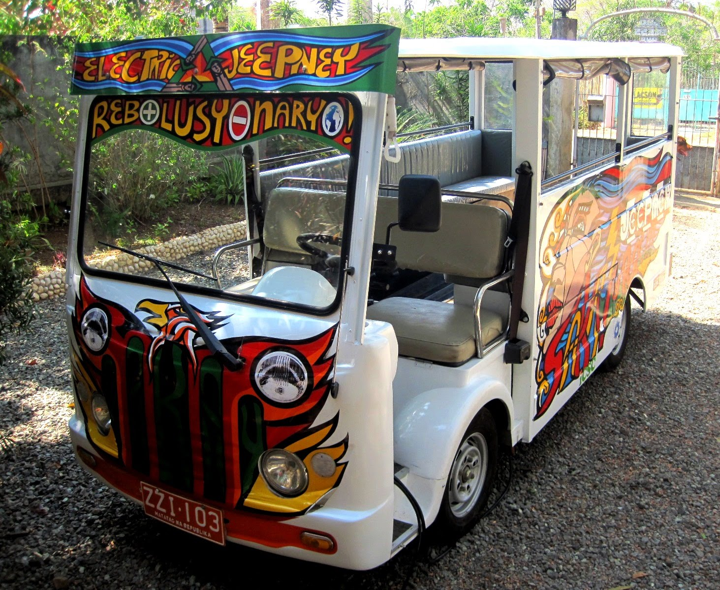 Electric Vehicles Philippines Phuv Electric Jeepney
