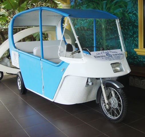 Electric Vehicles Philippines: Electric Tricycle Taxi For