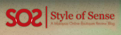 Style of Sense | A Malaysia Online Boutiques Review Blog