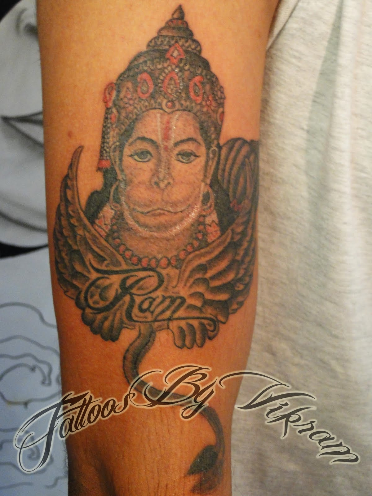 tattoos by vikram hindu tattoos