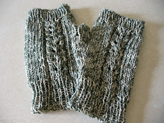 Lace Panel Mitts