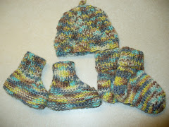 Booties,Sox,Spiral Hat