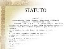 Leggi lo statuto dell'Associazione