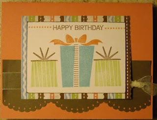 Birthday Surprise Gift Card Holder