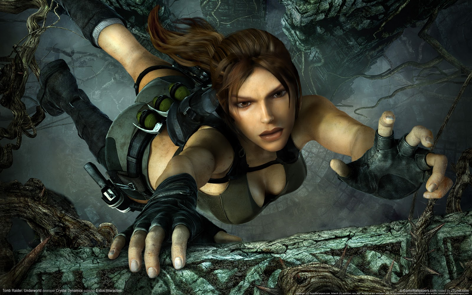 Tomb Raider Underworld HD desktop wallpaper  - tomb raider underworld game widescreen wallpapers