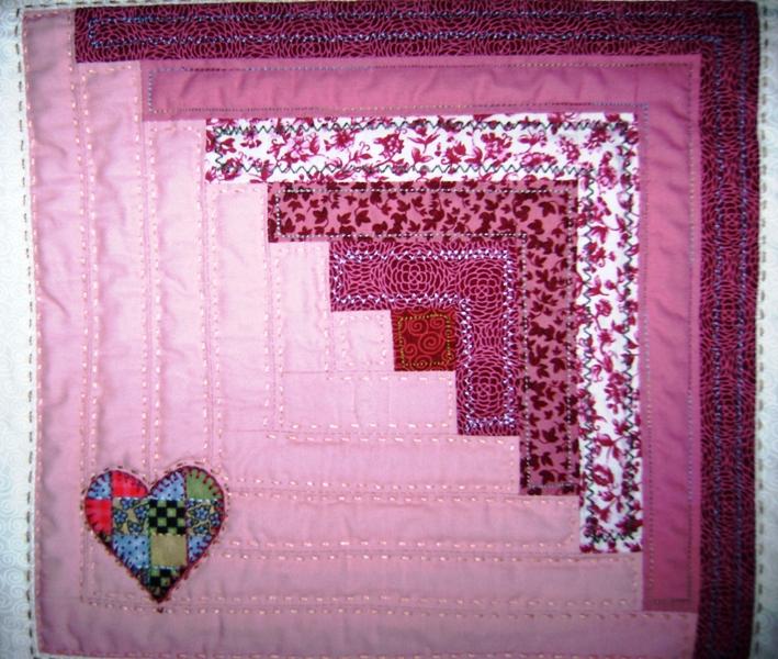 Jardim bordado t cnicas de patchwork - Tecnicas de patchwork a mano ...