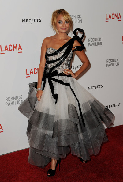 nicole richie marchesa dress
