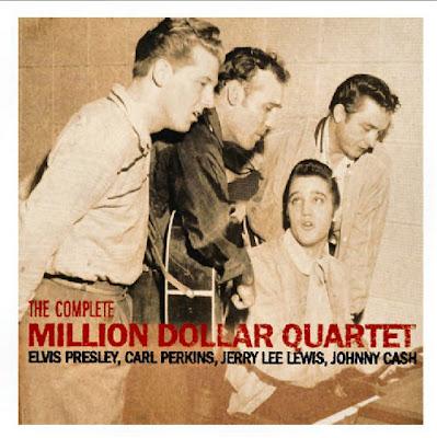 Cover Album of Presley, Cash, Lewis, Perkins - Million Dollar Quartet (2006