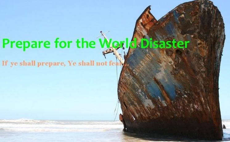 Prepare For  The World Disaster