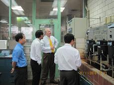 Chuyến thăm quan tại NM nước Thủ Đức, 11/2010