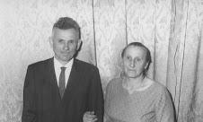 Nono Victório Bortolini e Nona Regina Tomasi Bortolini