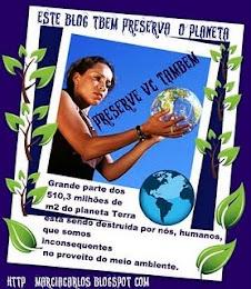 Selinho Preserve o nosso Planta da Marcia e do Carlos
