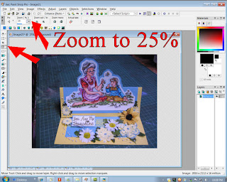 resize zoon 25 percent