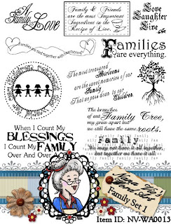 Word Art Family Set 1