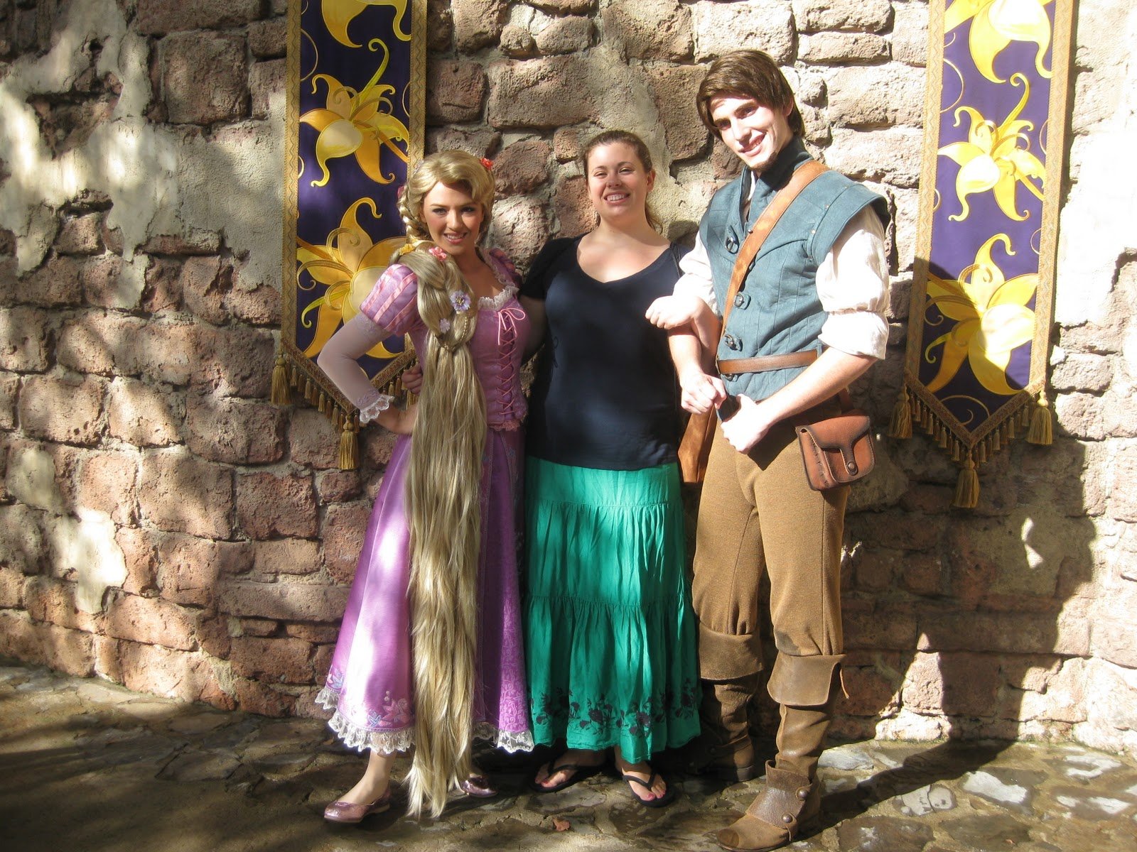 Flynn Rider Disney World Rapunzel and flynn rider Flynn Rider Disney World 2013