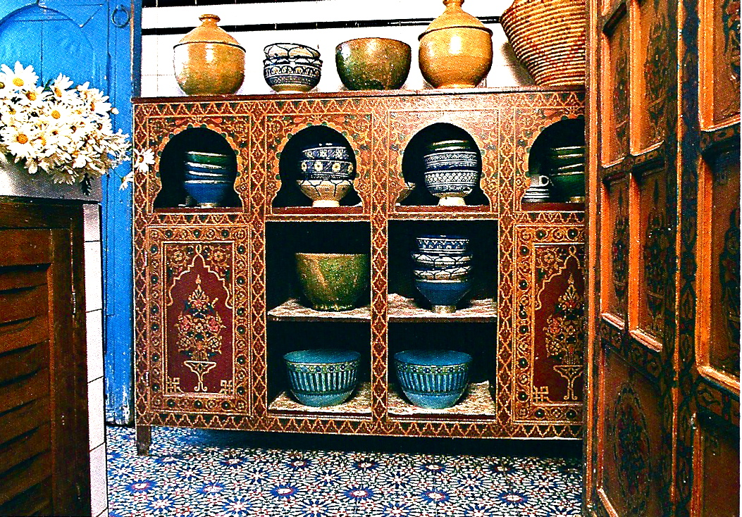 The thrifty decorator a few moroccan touches for your home for Moroccan kitchen ideas
