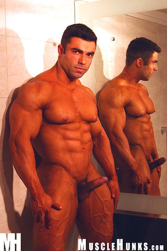 Brazilian god at MuscleHunks