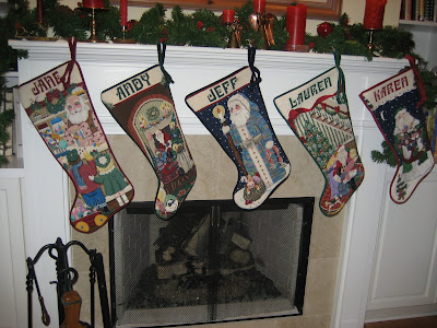 needlepoint christmas stockings, needlepoint christmas stocking, christmas needlework