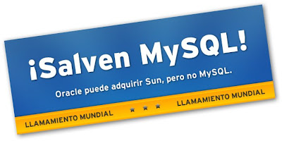 ¡Salvemos MySQL! – Llamado Mundial
