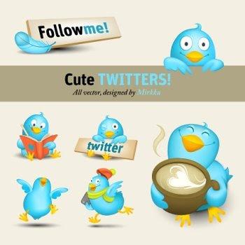 Pack de Iconos de Twitter