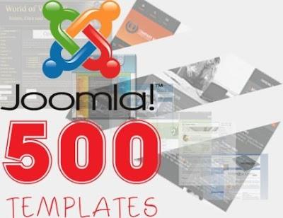 500 Plantillas (Templates) Para Joomla
