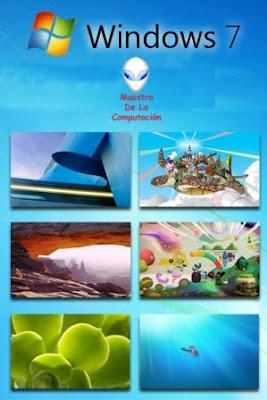 Wallpapers Oficiales del Windows 7