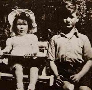 Julia Dykins and John Lennon